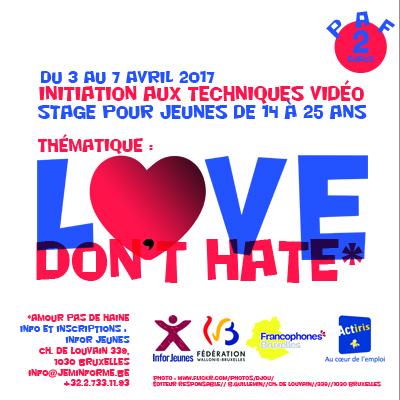 stage vidéo d'Infor Jeunes