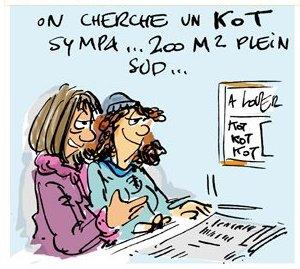 offres de kots Infor Jeunes