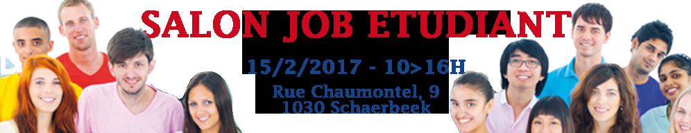 Salon Job Etudiant le 15 Février 2017 à Schaerbeek