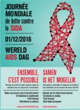 1er décembre 2016: journée de lutte contre le sida